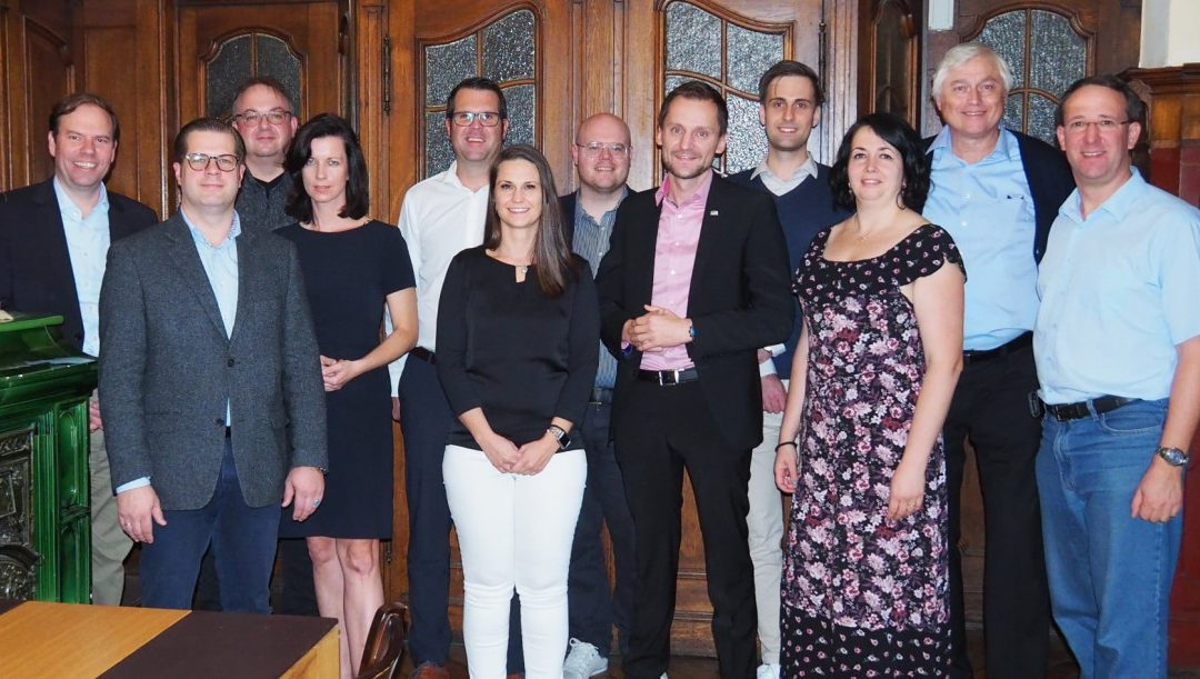 Turnus eröffnet: Konstituierende Landesvorstandssitzung in Amberg