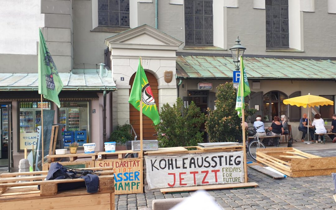 Klima-Camp in Augsburg, Fridays for Future